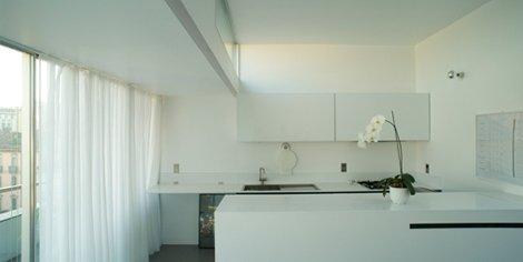 Come arredare una mansarda sfruttare al meglio lo spazio designandmore arredare casa - Cucina tutta bianca ...