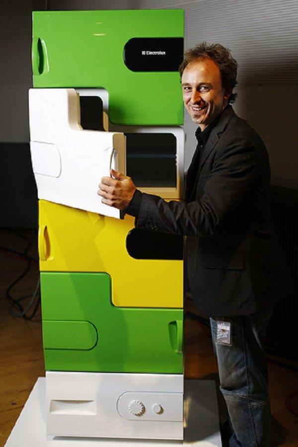 Il frigorifero Electrolux disegnato da Stefan Buchberger