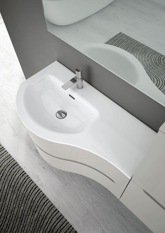 Smyle di ideagroup collezione di arredo bagno semplice e funzionale - Arredo bagno arezzo e provincia ...