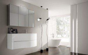 smyle di ideagroup: collezione di arredo bagno semplice e funzionale - Arredo Bagno Semplice