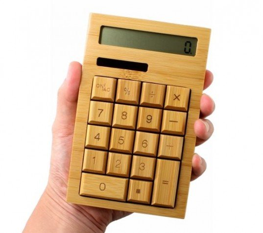 Solar-powered-bamboo-calculator-2-537x475
