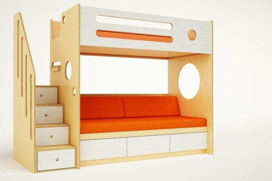 Bunk-with-Daybed-in-White-w-Siderail-537x358