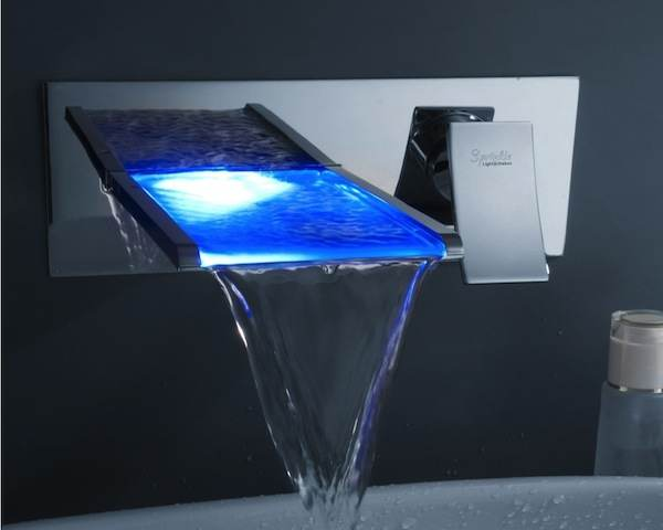 waterfall bathroom sink faucet 3