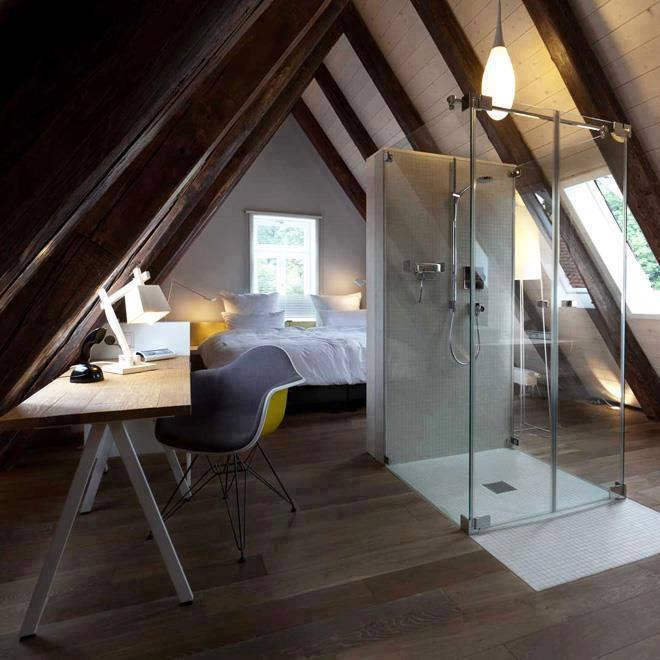 Camera da letto in mansarda foto di esempi e suggerimenti for Camera da letto studio